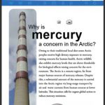 From Southern Factories to Northern Food Supplies: Mercury in the Arctic