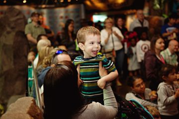 A Young Boy Enjoys Dreamnight.Photo Credit Ophelia Photography