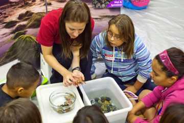 AquaVan educators bring the wonders of the ocean - live and up close - to communities across Canada