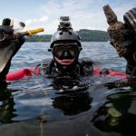 Underwater Dive Uncovers an Abundance of Litter Items