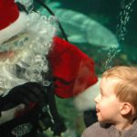 Santa May Fly Through the Sky but Scuba Claus Prefers a Dive and High-Five!
