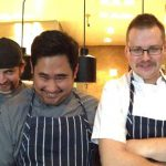 Catch Restaurant & Oyster Bar team during Movember.