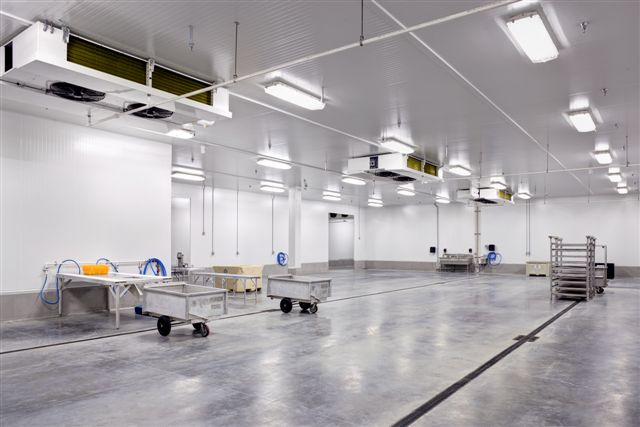 Internal view of Albion's new Richmond facility. Photo credit: Albion Fisheries Ltd.