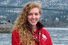 Stephanie C. is the guest services lead at the Vancouver Aquarium.