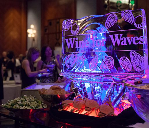 Wine for Waves joins together the Bench's spring release wines with ocean-friendly canapés and a silent wine auction.
