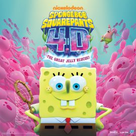 Sponge Bob Square Pants in 4D at the Vancouver Aquarium