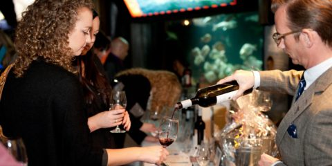 Vancouver Aquarium Toast to the Coast