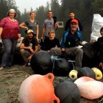 Cleaning up Tsunami Debris from the West Coast Trail