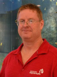 Lee is the Aquarium's curator of tropical waters.