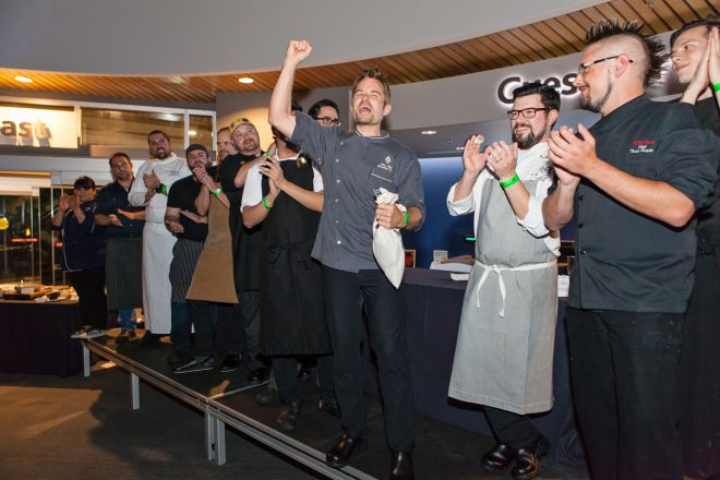 Chef Ned Bell, winner of 2014 Vancouver Chowder Chowdown