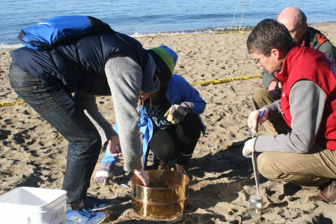 Students came together to help better understand how microplastics affect the environment.