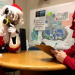 Sitting Down with Scuba Claus