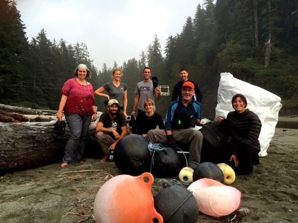 Cleaning up the West Coast Trail