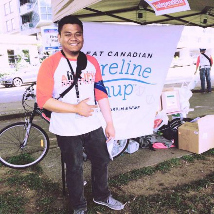 Sign up for a shoreline cleanup in Canada