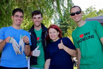 Great Canadian Shoreline Cleanup volunteers
