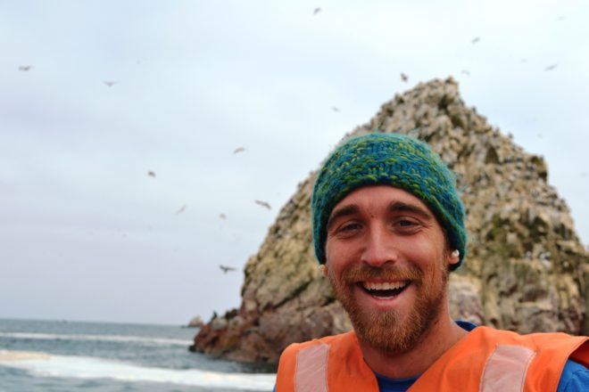 Dan splits his time between leading tour groups abroad and at the Aquarium.