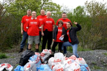 Ricoh Canada and the Great Canadian Shoreline Cleanup