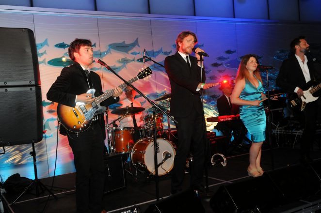 Side One Band at Vancouver Aquarium Gala