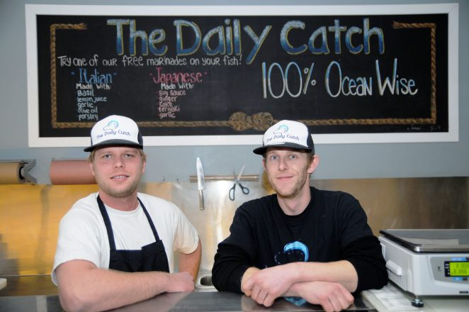 Daily Catch sustainable seafood