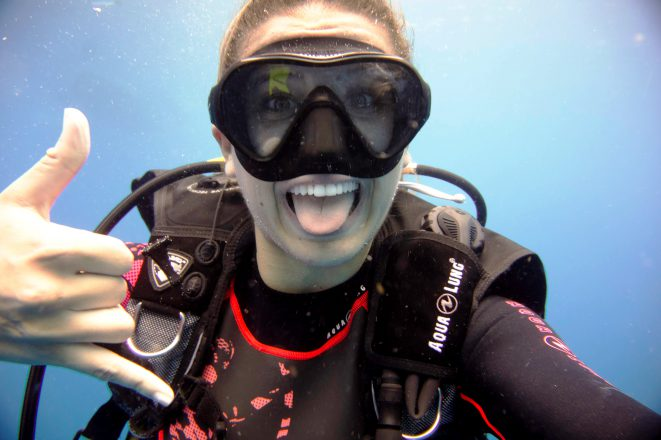 Diving around the world