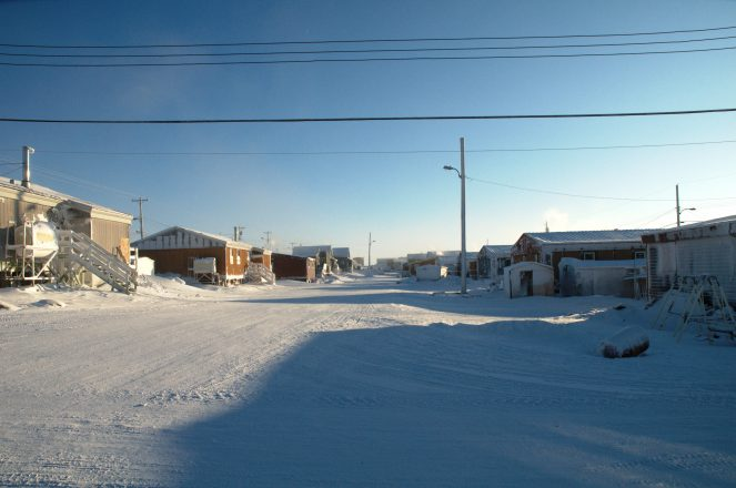 Cambridge Bay in the High Arctic.