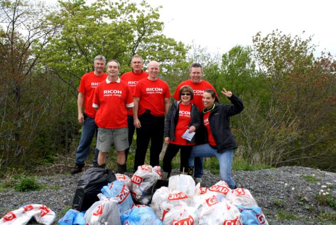 Ricoh Canada sponsors Great Canadian Shoreline Cleanup
