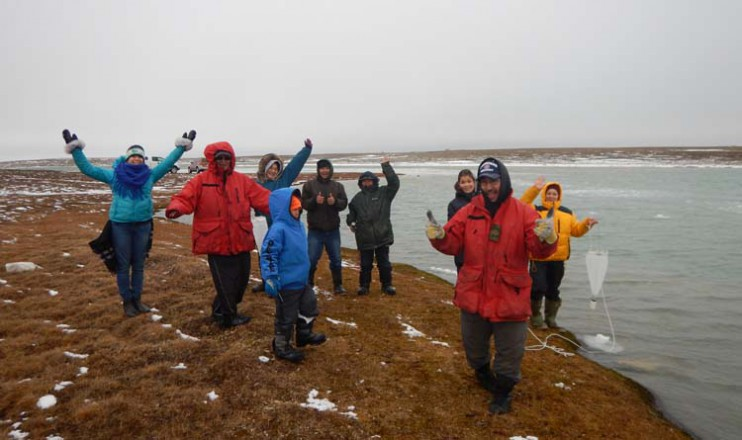 Inuit youth in Gjoa Haven, Nunavut, collect samples of plankton to explore how traditional knowledge and scientific research can work together.