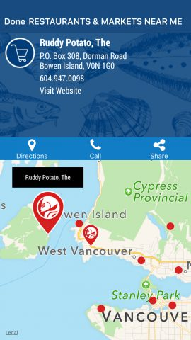 The Ocean Wise app puts sustainable seafood at your fingertips.