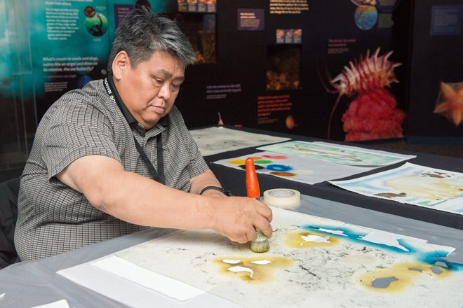 Inuit artist Andrew Qappik inspires with his art and his life experience.