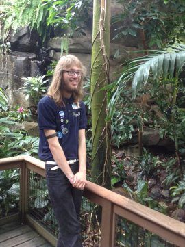 Volunteering is a great chance to build skills and hang out in some of our habitats — like the Amazon.