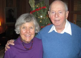 Dr. Murray A. Newman and Katherine, his wife of 60 years.