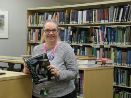 Ann oversees our best-kept secret: the library!