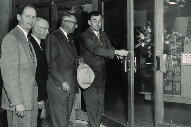 June 15, 1956 — Grand opening of the Aquarium.