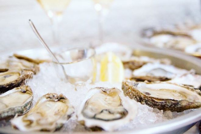 Ocean Wise Oysters served at Café Boulud Photo credit: Four Seasons Toronto
