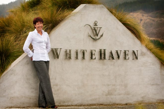 Sue White co-founder and managing director of Whitehaven Wines.