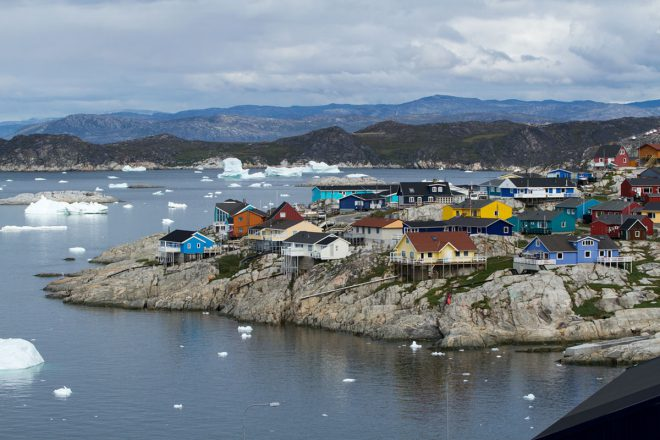 The community of Ilulissat.
