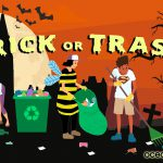 Trick-or-Trash: Ocean Bridge youth creates national Halloween clean-up initiative