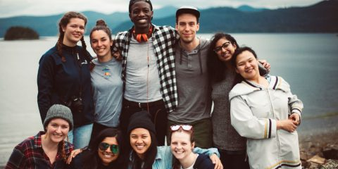Ocean Wise's Ocean Bridge initiative is a youth service and development program for young Canadians aged 18-30